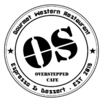 Overstepped Cafe Logo