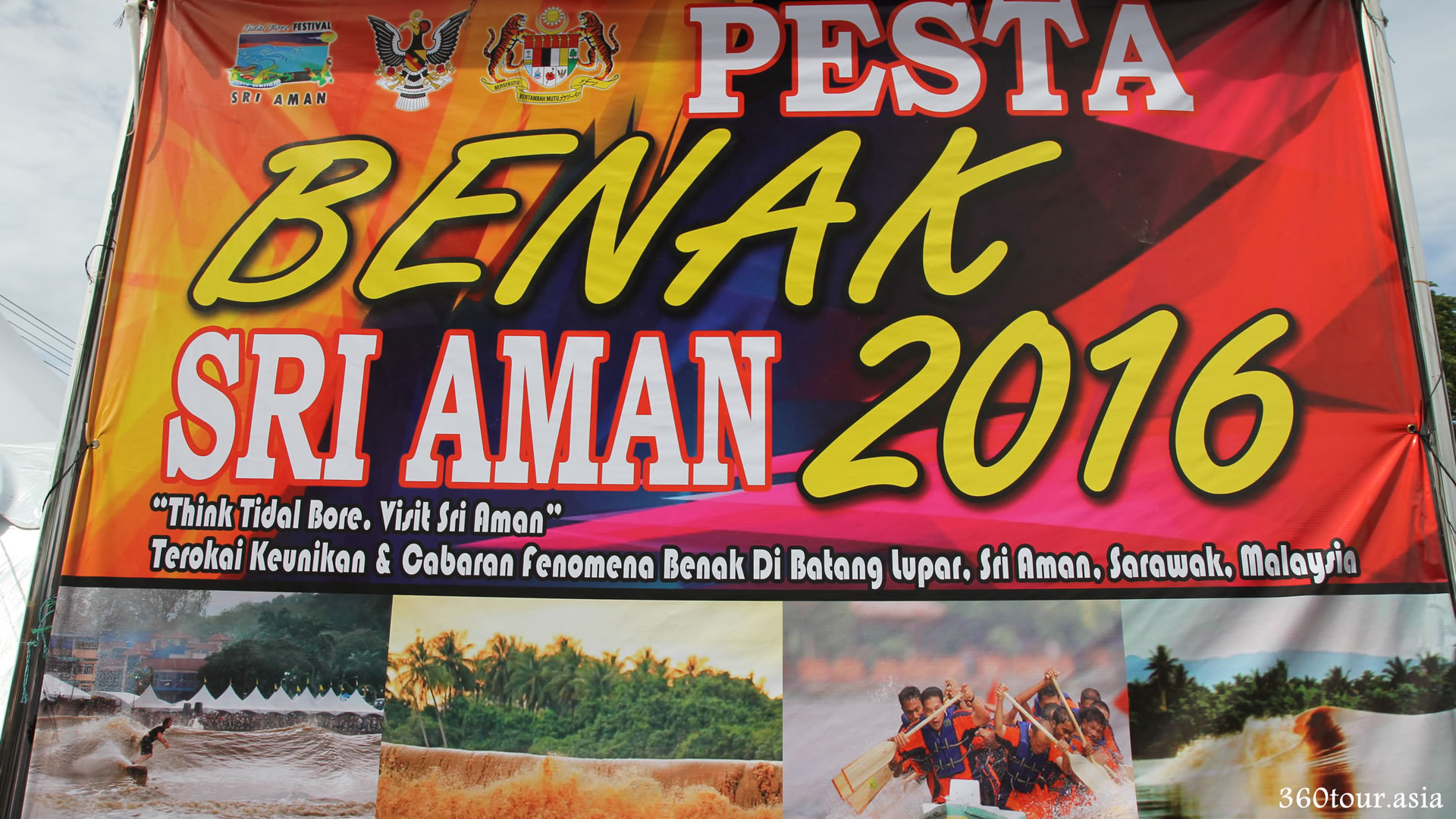 Pesta Benak Sri Aman 2016 (The Tidal Bore Festival)