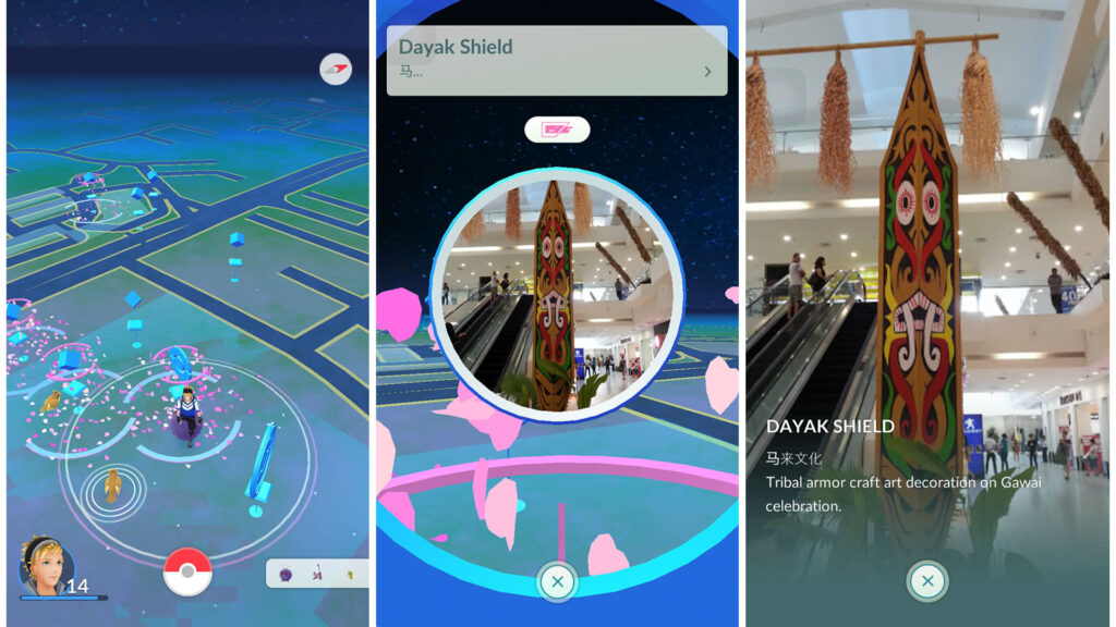 Dayak Shield PokeStop