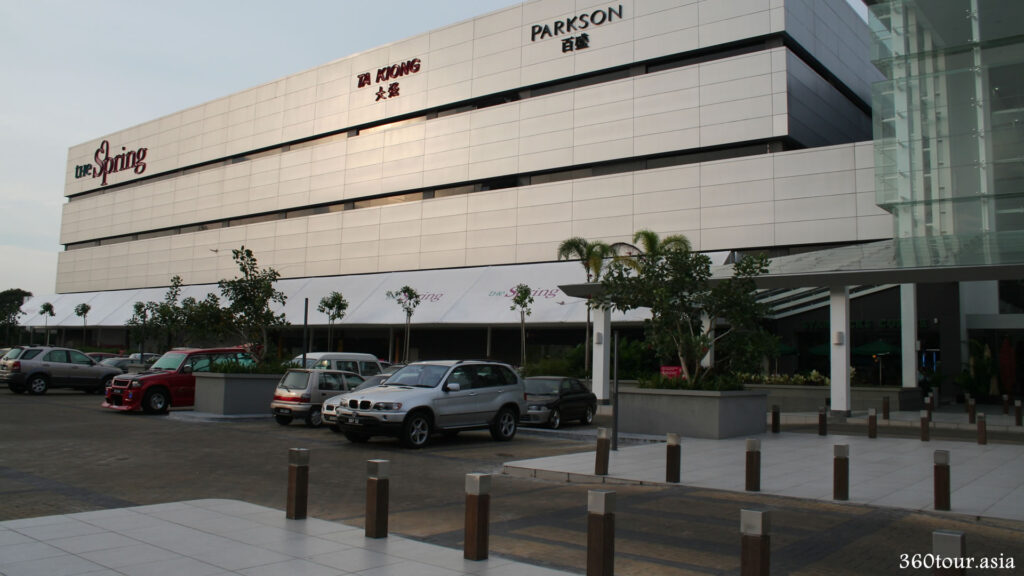 The Spring Mall front carpark