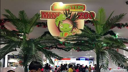 The Little Monsters Pet Station Mini Zoo exhibition at Boulevard Shopping Mall Kuching