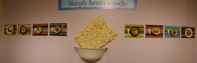 Simply better noodles - all you can made of a simple noodle dish