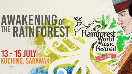Don't Miss your opportunity for Rainforest World Music Festival 2018 !