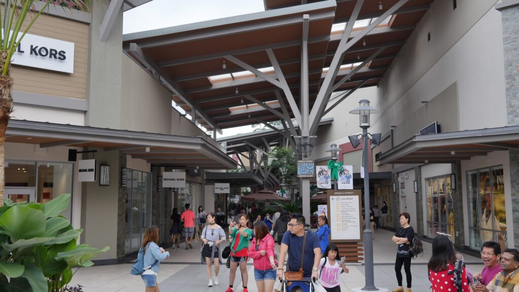 Genting Premium Outlet can be very packed with shoppers during peak seasons