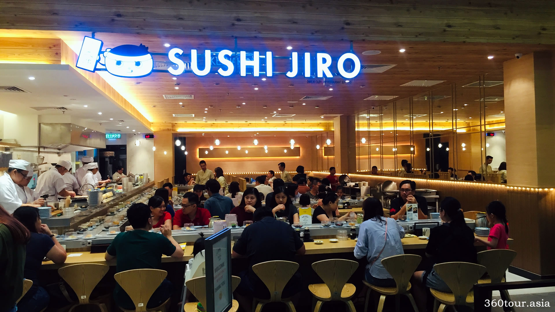 Sushi Jiro is now in Kuching at Vivacity Megamall Kuching