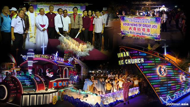 "Kuching Christmas Parade 2018 ""Good News of Great Joy"""
