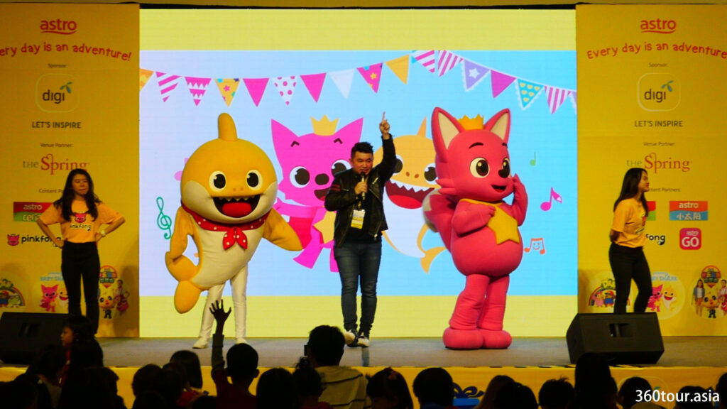 Dance along with Pinkfong and Baby Shark