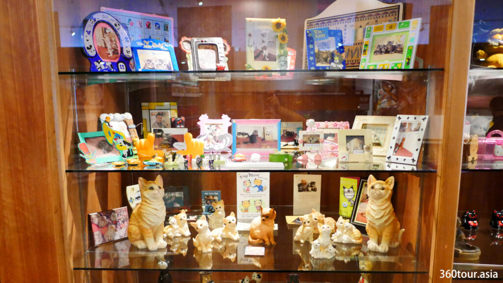 Cat souvenir and gift for Cat Museum