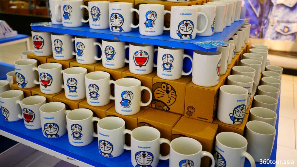 The Doraemon ceramic cups.