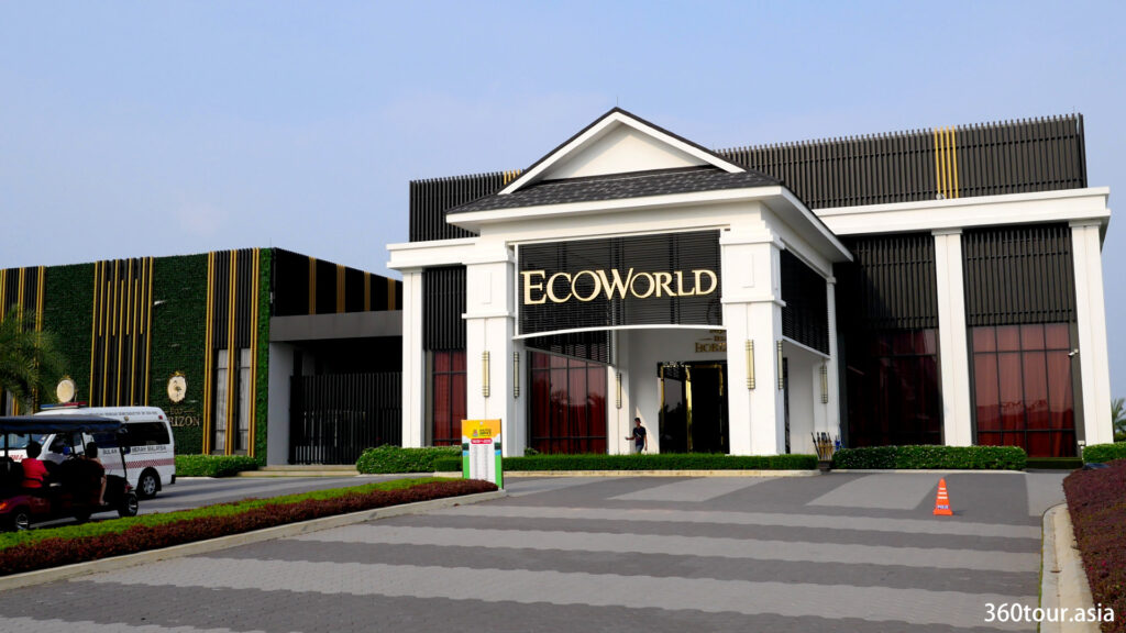 The Eco World gallery at Eco Horizon.