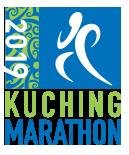 The Kuching Marathon 2019 official logo.